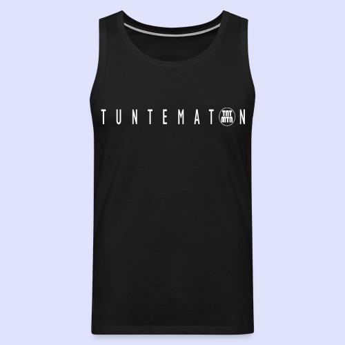 tuntematon - Miesten premium hihaton paita