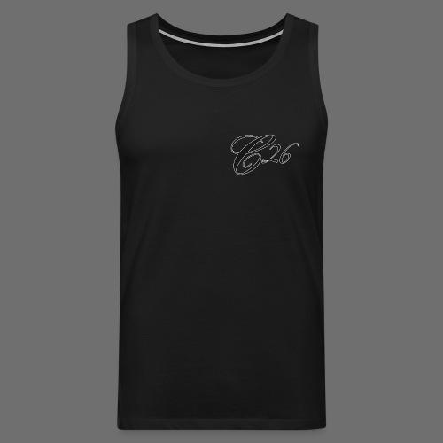 C26 logo tshirt - Men's Premium Tank Top