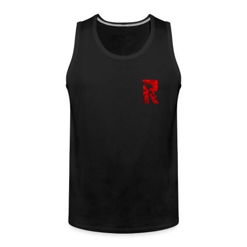 RaZe R Logo - Men's Premium Tank Top