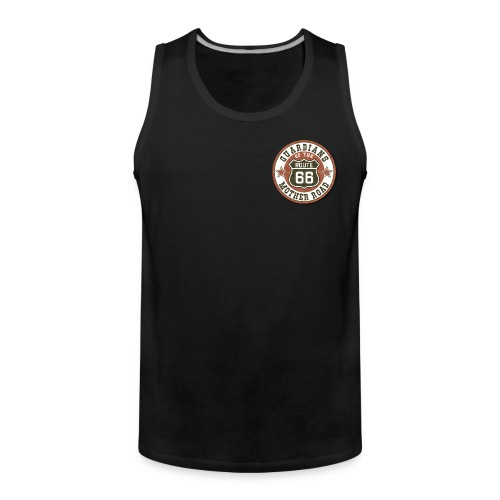 Guardian of the Mother Road (2 Prints) - Männer Premium Tank Top