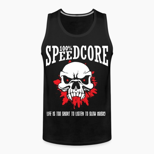 100% Speedcore - Men's Premium Tank Top