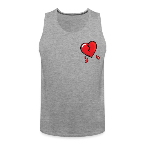 Broken Heart - Men's Premium Tank Top