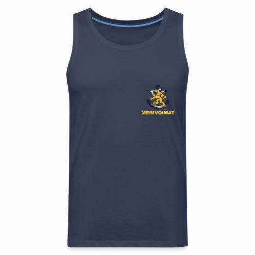 meriv - Miesten premium hihaton paita