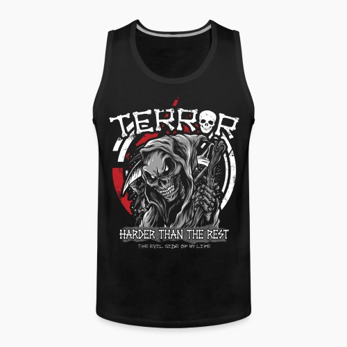 Terror - Harder Than The Rest - Men's Premium Tank Top