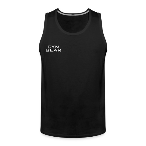 Gym GeaR - Men's Premium Tank Top