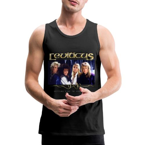 Leviticus - Setting Fire to the Earth 5 - Men's Premium Tank Top