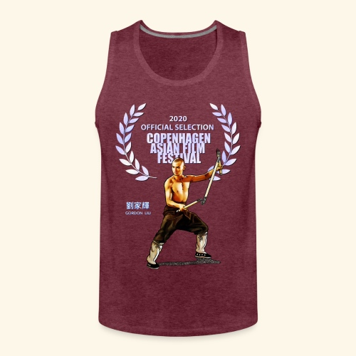 CAFF - Official Item - Shaolin Warrior 2 - Mannen Premium tank top