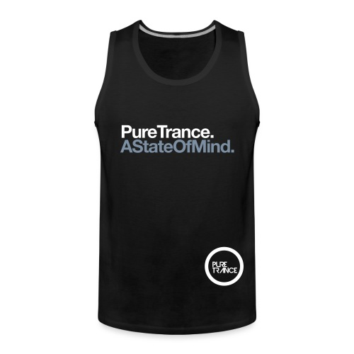 Pure Trance A State Of Mind - Men's Premium Tank Top