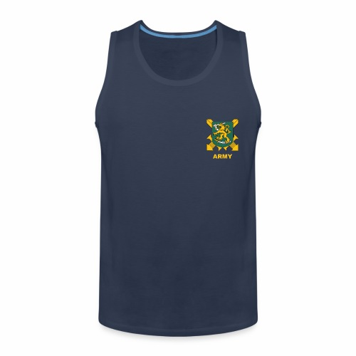 army - Miesten premium hihaton paita