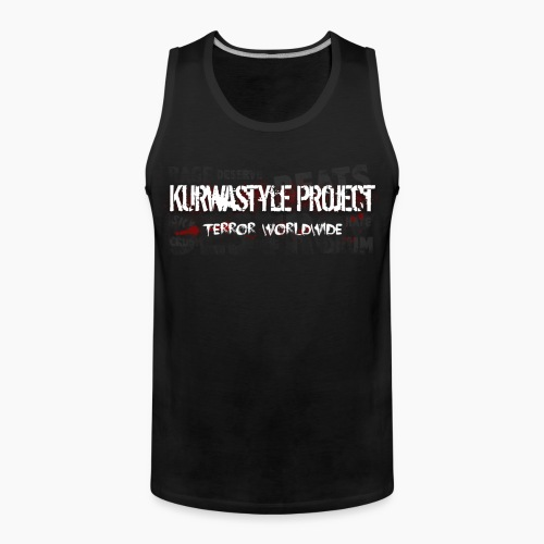 Kurwastyle Project - Terror Worldwide - Men's Premium Tank Top