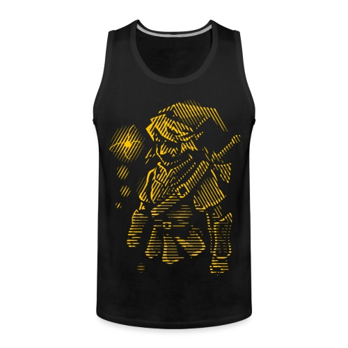 Courage T-shirt - Men's Premium Tank Top