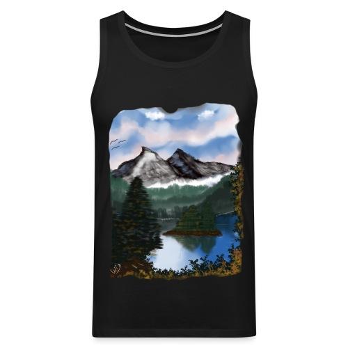 Mystic Mountain - Männer Premium Tank Top
