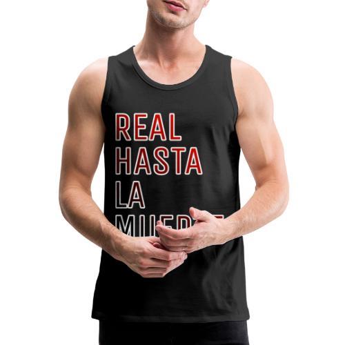 REAL HASTA LA MUERTE - Tank top premium hombre
