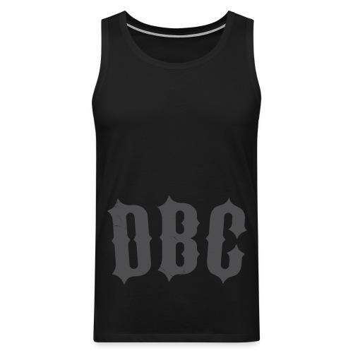 DBC low grey - Premium singlet for menn