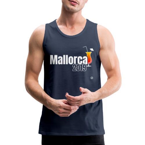 MALLE 2019 Cocktail Shirt - Mallorca Shirt - Mannen Premium tank top