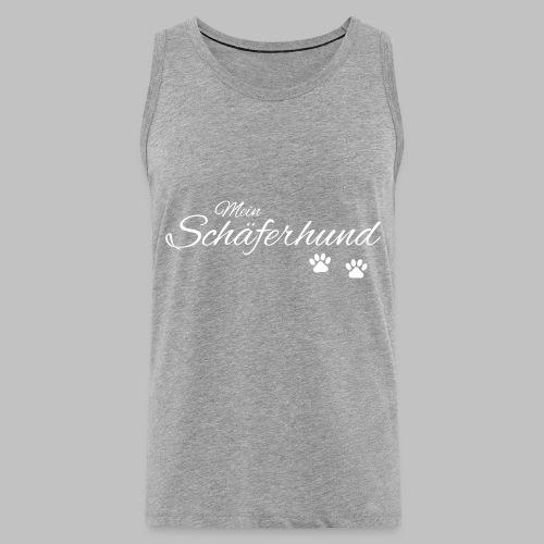 Mein Schäferhund - T-Shirt - Hoodie - Pullover - Männer Premium Tank Top