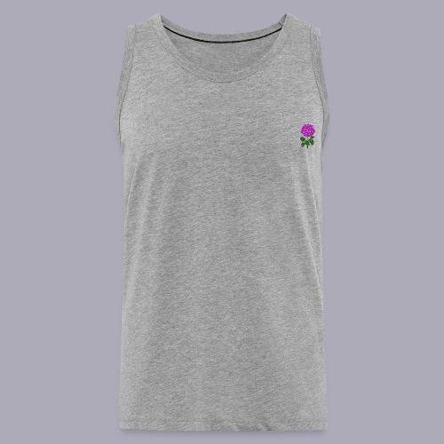 Landryn Design - Pink rose - Men's Premium Tank Top