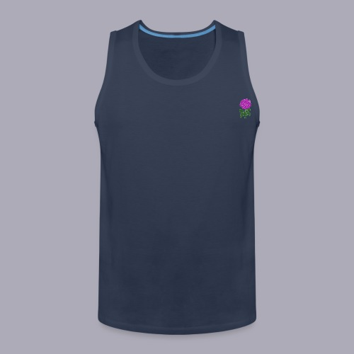 Landryn Design - Pink rose - Men's Premium Tank Top