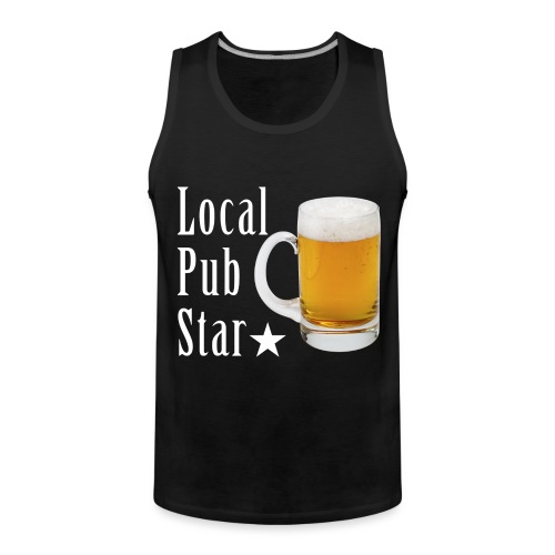 Lokalna gwiazda pubu - Tank top męski Premium