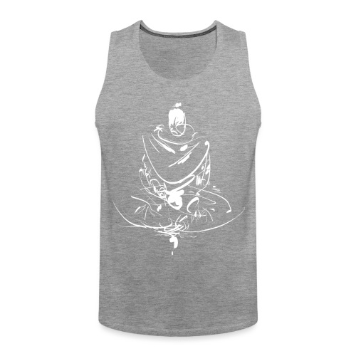 Iaido Samurai Zen Meditation - Men's Premium Tank Top