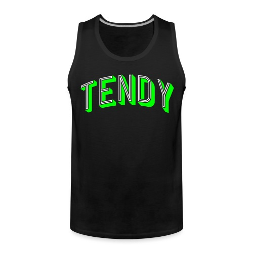 Hockey Goaltender - Tendy - Men's Premium Tank Top