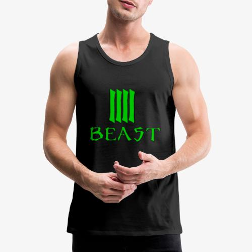 Beast Green - Men's Premium Tank Top