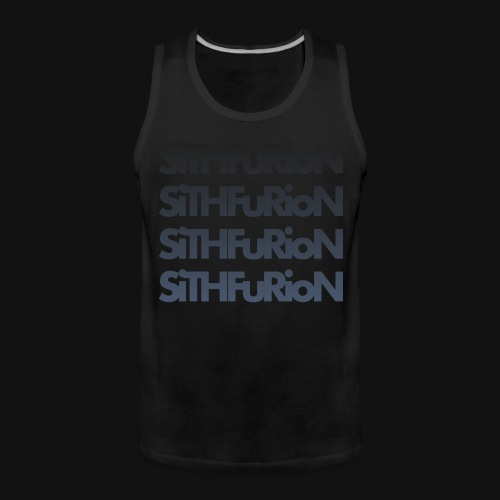 SiThFuRioN Faded - Men's Premium Tank Top