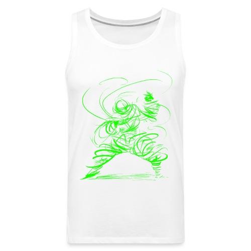 Kung Fu Sorcerer / Kung Fu Wizard - Men's Premium Tank Top