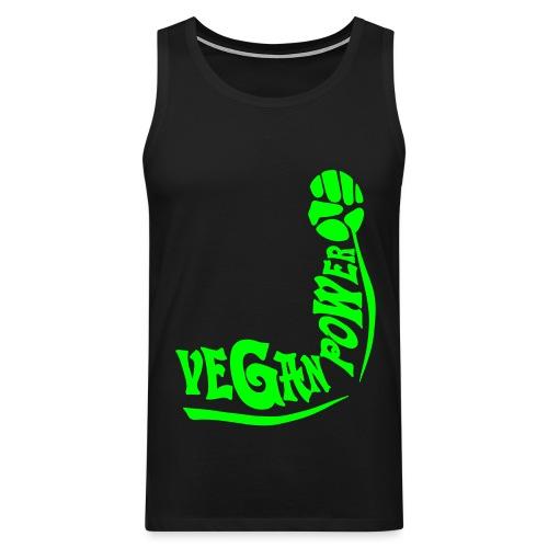 Vegan Power - Männer Premium Tank Top