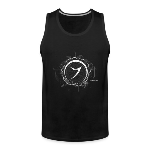 Zenon TECH (white) - Men's Premium Tank Top