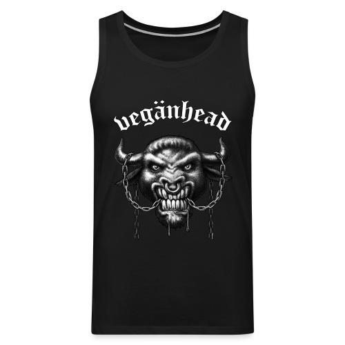 Veganhead - Männer Premium Tank Top