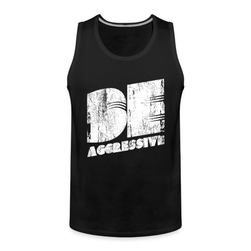 'BE AGGRESSIVE' Fitness, Workout, Gym - Männer Premium Tank Top