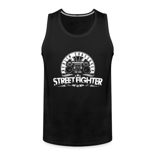 Street Fighter Band (White) - Männer Premium Tank Top