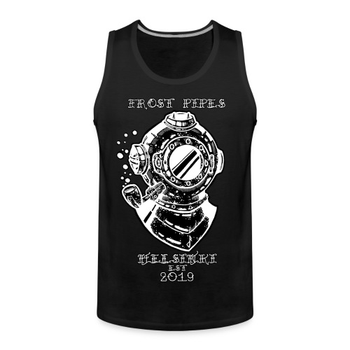 The Nautical Piper by Frost Pipes - Men's Premium Tank Top