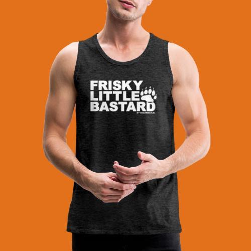 frisky little bastard new - Men's Premium Tank Top