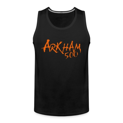 logo_arkham_red_trykk3 - Premium singlet for menn