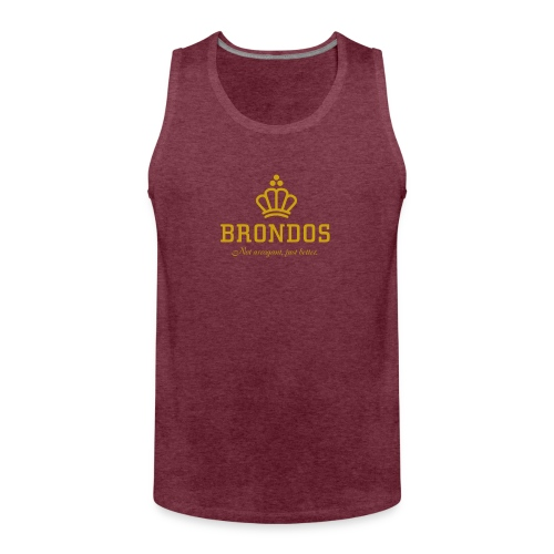 Brondos - Miesten premium hihaton paita