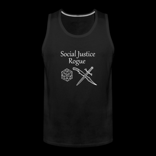 Social Justice Rogue - Men's Premium Tank Top