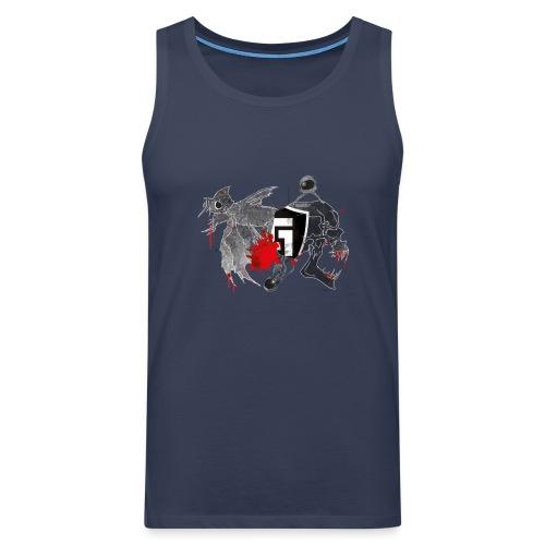 shirt2black - Men's Premium Tank Top
