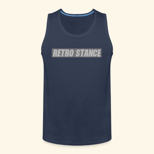 Retro Stance - Men's Premium Tank Top