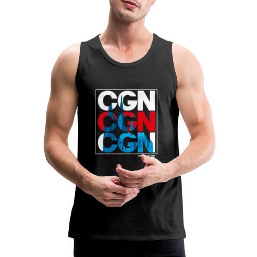 CGN x3 - Männer Premium Tank Top