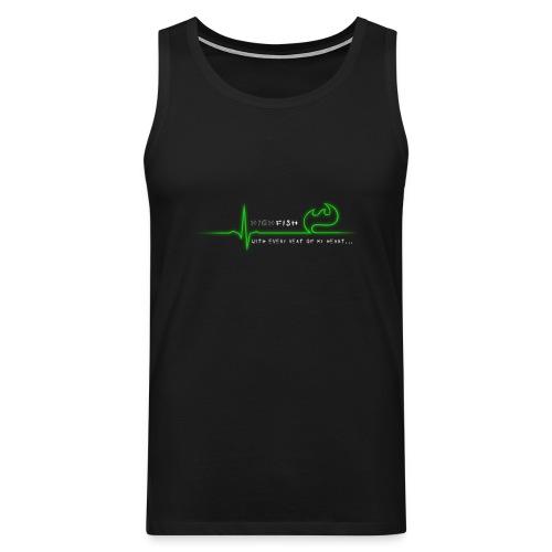 Heartbeat - Männer Premium Tank Top