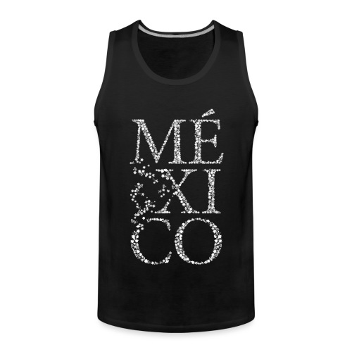 México (weiß) - Männer Premium Tank Top