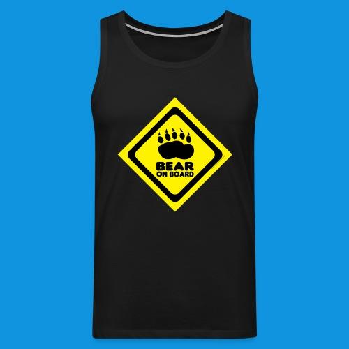 Bear On Board 3 tank - Men's Premium Tank Top