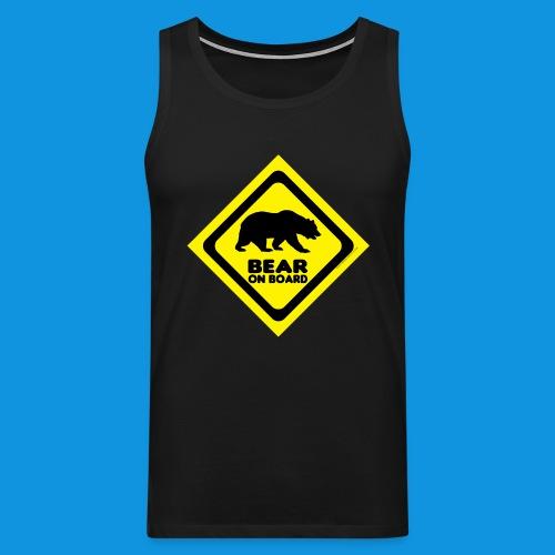 Bear On Board 2 tank - Men's Premium Tank Top