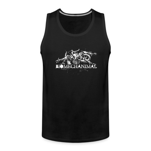 biomechanimalshirt png - Men's Premium Tank Top