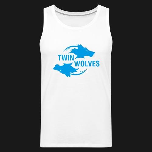 Twin Wolves Studio - Canotta premium da uomo