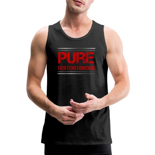 Sport - Pure Testosterone - Männer Premium Tank Top