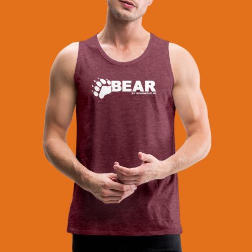 bear by bearwear sml - Men's Premium Tank Top