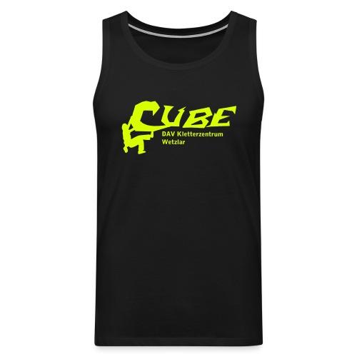Cube Logo - Männer Premium Tank Top
